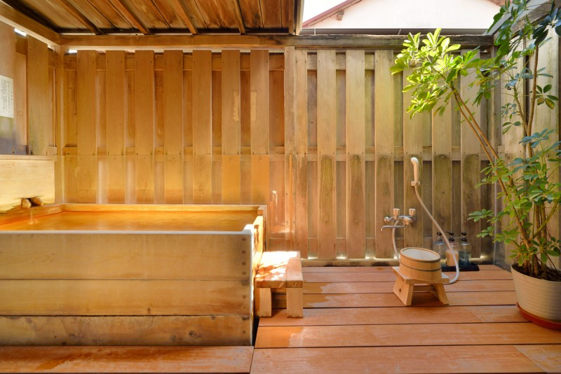 Japanese Style Room with Large Open-air bath