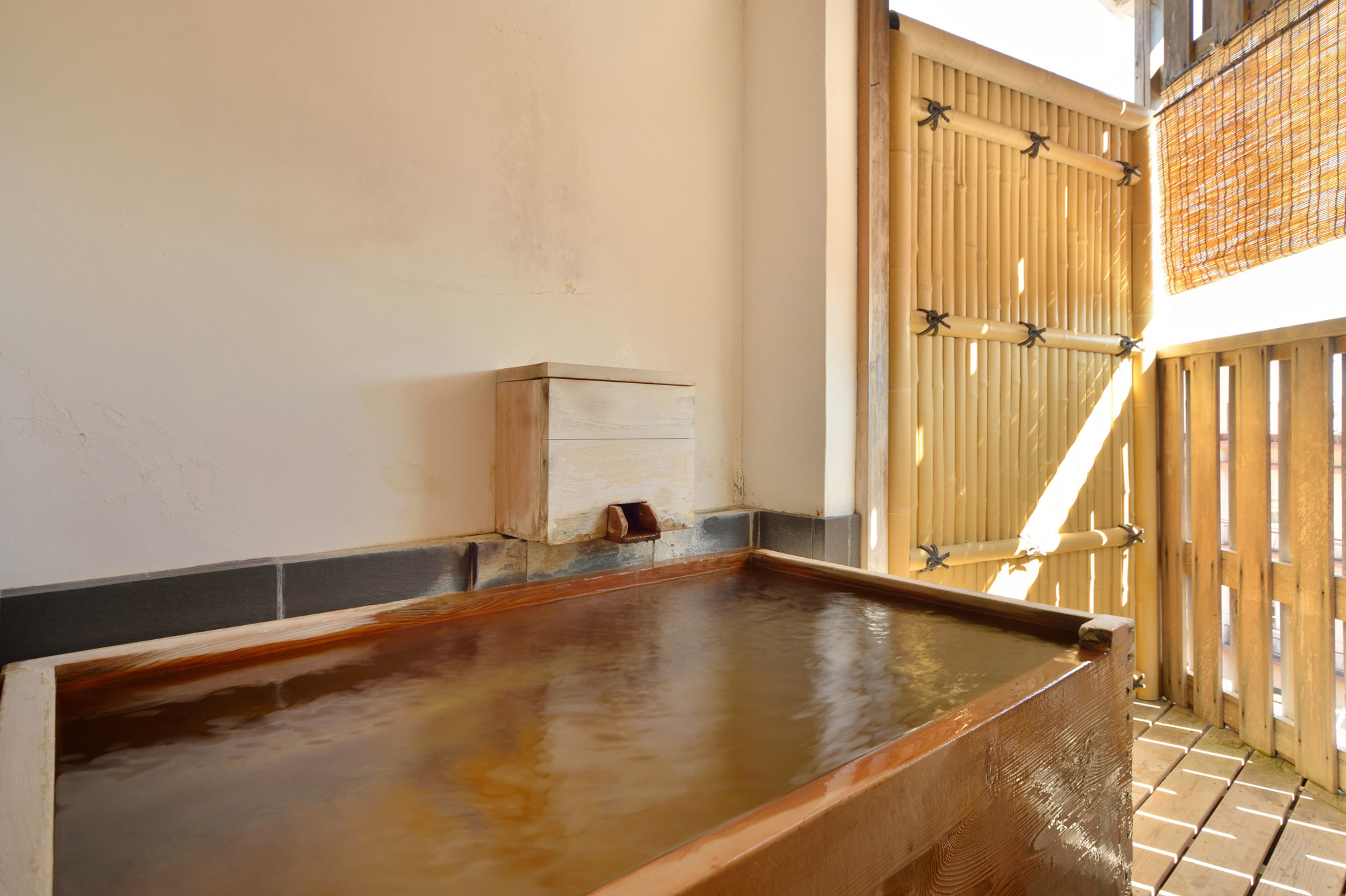 Japanese Style Room with Small Open-air bath(Half Board)
